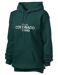 Coronado High School Islanders Unisex Hooded Sweatshirt