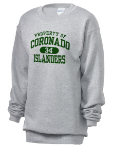 Coronado High School Islanders Unisex 7.8 oz Lightweight Crewneck Sweatshirt