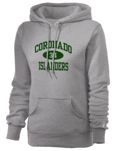 Coronado High School Islanders Russell Women's Pro Cotton Fleece Hooded Sweatshirt