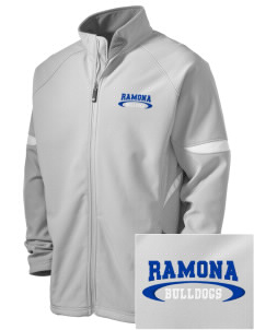 Ramona High School Bulldogs Holloway Embroidered Men's Radius Zip Front Jacket