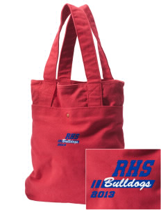 Ramona High School Bulldogs Embroidered Alternative The Berkeley Tote