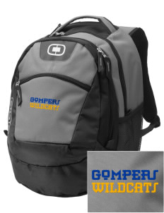Gompers Secondary School Wildcats Embroidered OGIO Rogue Backpack