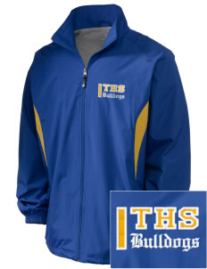 Turlock High School Bulldogs Embroidered Holloway Men's Full-Zip Jacket