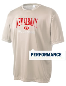 New Albany High School Bulldogs Men's Competitor Performance T-Shirt