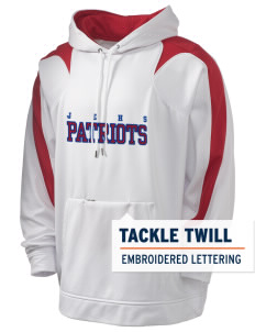 John Ehret High School Patriots Holloway Men's Sports Fleece Hooded Sweatshirt with Tackle Twill