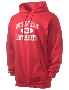 North Cumberland Elementary School Patriots Men's 7.8 oz Lightweight Hooded Sweatshirt