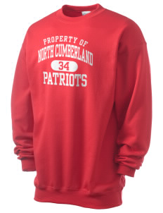 North Cumberland Elementary School Patriots Men's 7.8 oz Lightweight Crewneck Sweatshirt