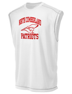 North Cumberland Elementary School Patriots Champion Men's 4.1 oz Double Dry Odor Resistance Muscle T-Shirt