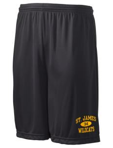 "Saint James High School Wildcats Men's Competitor Short, 9"" Inseam"
