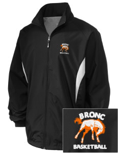 Billings Senior High School Broncs Embroidered Holloway Men's Full-Zip Jacket