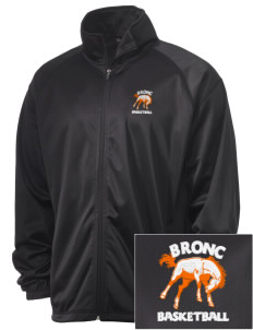 Billings Senior High School Broncs Embroidered Men's Tricot Track Jacket