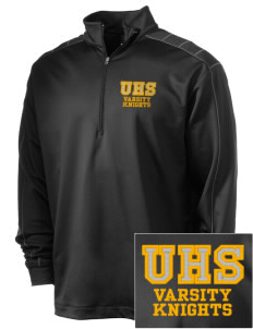 Uniondale High School Knights Embroidered Nike Men's Golf Dri-Fit 1/2 Zip