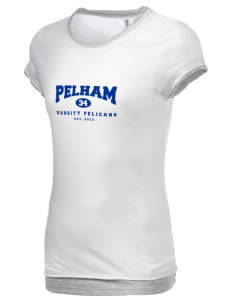 Pelham Pelicans Women's Sheer Claudette 2 in 1 T-Shirt