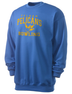 Pelham Pelicans Men's 7.8 oz Lightweight Crewneck Sweatshirt