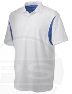 Pelham Pelicans Embroidered Men's Back Blocked Micro Pique Polo