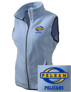 Pelham Pelicans Embroidered Women's Fleece Vest