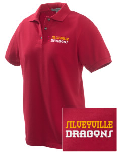 Silveyville Primary School Dragons Embroidered Women's Pique Polo