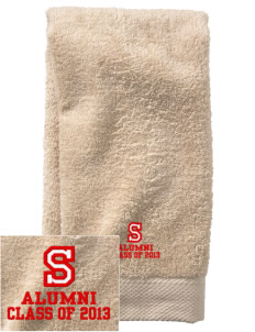 Silveyville Primary School Dragons  Embroidered Zero Twist Resort Hand Towel