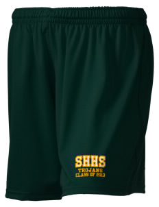 "Southeast Halifax High School Trojans Embroidered Holloway Women's Performance Shorts, 5"" Inseam"