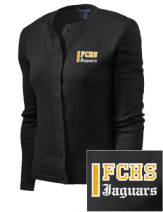 Farmville Central High School Jaguars Embroidered Women's Cardigan Sweater