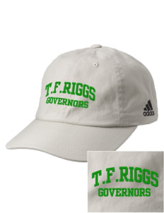 T.F. Riggs High School Governors Embroidered adidas Relaxed Cresting Cap