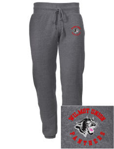 Wilmot Union High School Panthers Embroidered Alternative Men's 6.4 oz Costanza Gym Pant