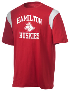 Hamilton Elementary School Huskies Holloway Men's Rush T-Shirt