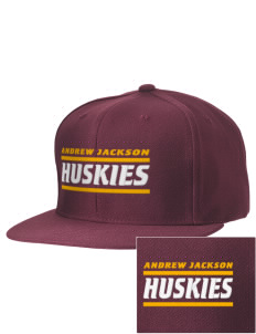 Andrew Jackson Elementary School Huskies Embroidered D-Series Cap