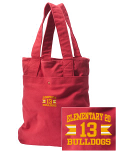 Elementary School 20 Bulldogs Embroidered Alternative The Berkeley Tote
