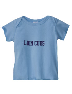 Chico Christian School Lion Cubs  Baby Lap Shoulder T-Shirt