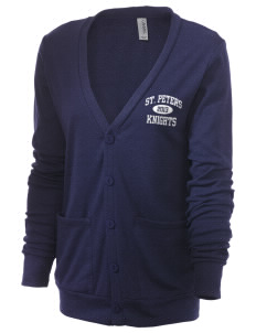 Saint Peters School Knights Unisex 5.6 oz Triblend Cardigan