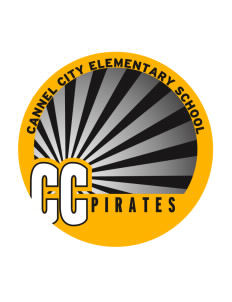 Cannel City Elementary School Pirates Sticker