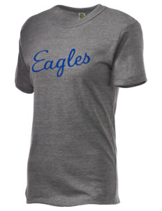 George F Johnson Elementary School Eagles Embroidered Alternative Unisex Eco Heather T-Shirt
