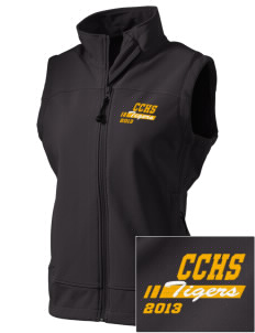 Clay County High School Tigers  Embroidered Women's Glacier Soft Shell Vest