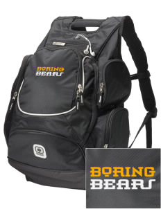 Boring Middle School Bears  Embroidered OGIO Bounty Hunter Backpack