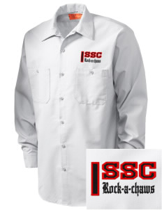 Saint Stanislaus College Preparatory Rock-A-Chaws Embroidered Men's Industrial Work Shirt - Regular