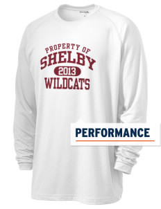 Shelby Elementary School Wildcats Men's Ultimate Performance Long Sleeve T-Shirt
