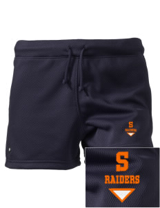 "Stickney School Raiders Embroidered Holloway Women's Balance Shorts, 3"" Inseam"
