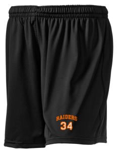 "Stickney School Raiders Embroidered Holloway Women's Performance Shorts, 5"" Inseam"