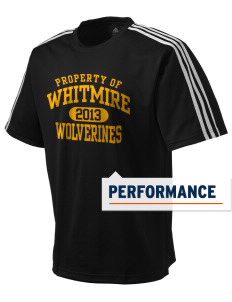 Whitmire High School Wolverines adidas Men's ClimaLite T-Shirt