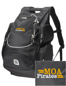 Mount Olive Attendence Center Pirates  Embroidered OGIO Bounty Hunter Backpack
