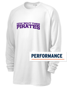 Mount Olive Attendence Center Pirates Men's Ultimate Performance Long Sleeve T-Shirt