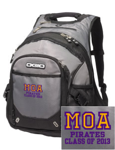 Mount Olive Attendence Center Pirates Embroidered OGIO Fugitive Backpack