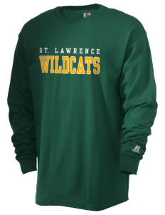 Saint Lawrence School Wildcats  Russell Men's Long Sleeve T-Shirt