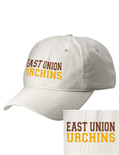 East Union Attendance Center Urchins  Embroidered New Era Adjustable Unstructured Cap