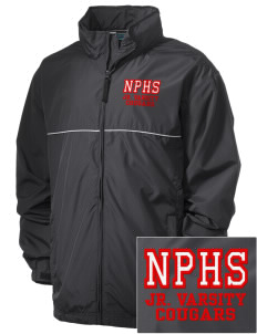 North Panola High School Cougars Embroidered Men's Element Jacket