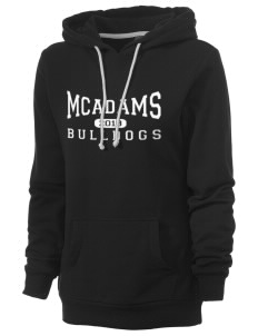McAdams High School Bulldogs Women's Core Fleece Hooded Sweatshirt