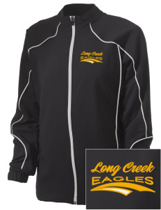 Long Creek Elementary School Eagles Embroidered Russell Women's Full Zip Jacket