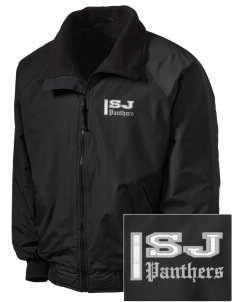 Saint John's Lutheran School Panthers Embroidered Tall Men's Challenger Jacket