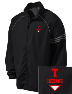 Titonka Consolidated School Indians Embroidered adidas Men's ClimaProof Jacket